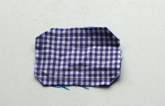 Сшиваем кусочки ткани вместе фото