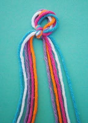 Начинаем плетение браслета с узором елочка фото