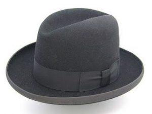 Шляпа Хомбург фото