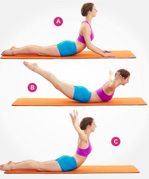 Упражнение на мышцы живота фото