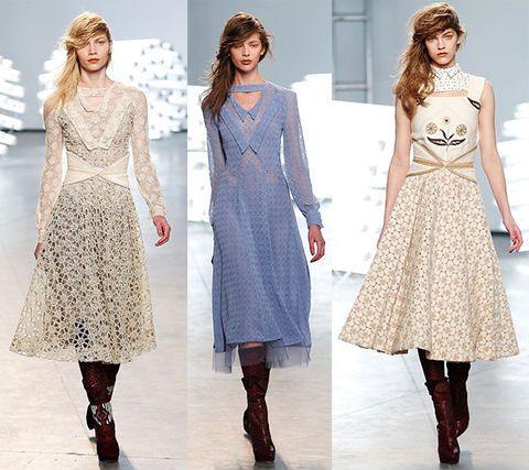 Платье в американском стиле кантри фото