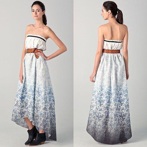 Платье в стиле кантри фото