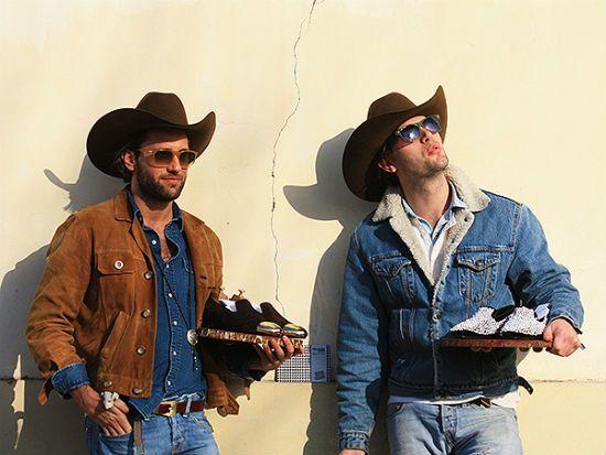Современные мужчины одетые в стиле кантри фото