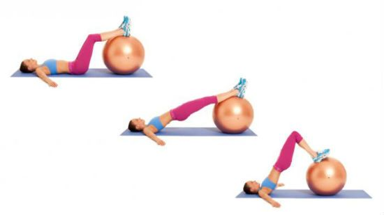 Упражнение на укрепление мышц бедер и ягодиц фото