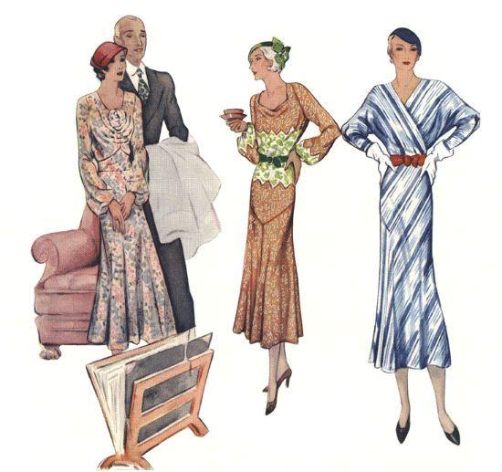 Стиль винтаж 30-х годов фото