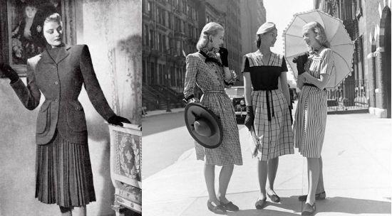 Стиль винтаж 40-х годов фото