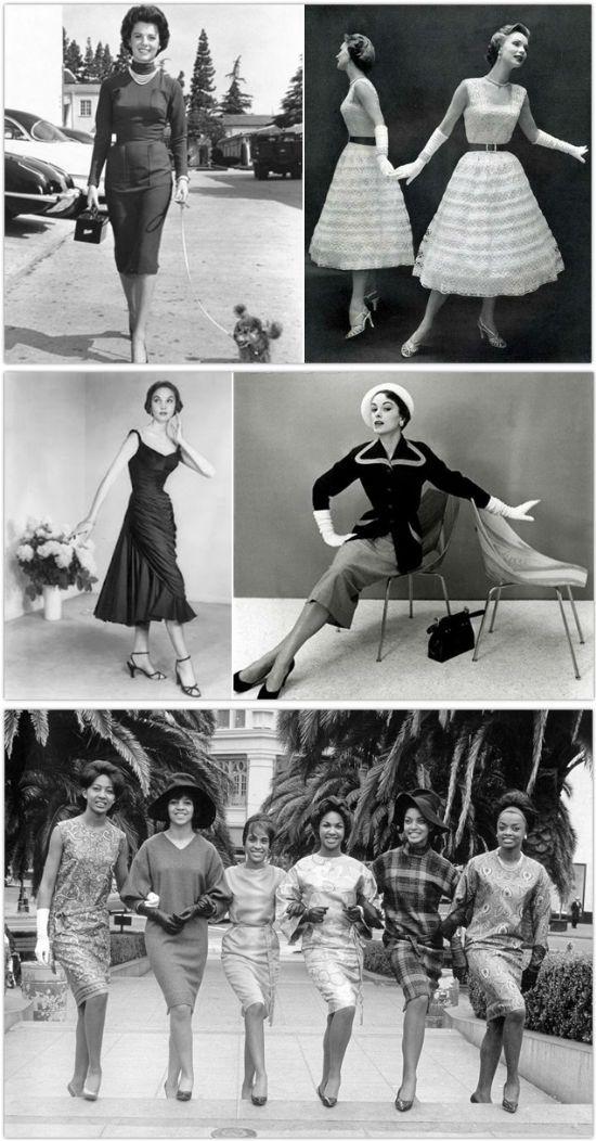 Стиль винтаж 50-х годов фото