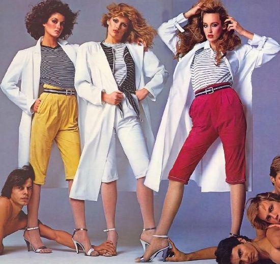 Стиль винтаж 80-х годов фото