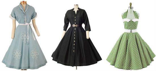 Платья в классическом винтажном стиле фото