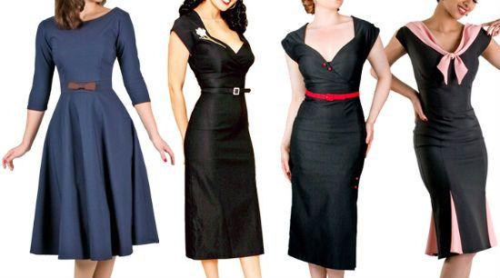 Платья в винтажном стиле фото