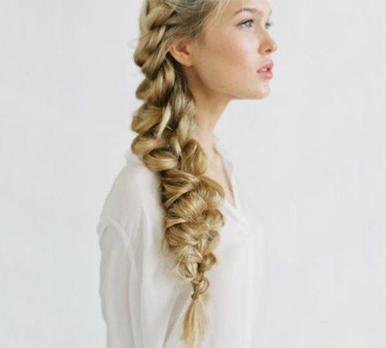 Ажурная коса фото