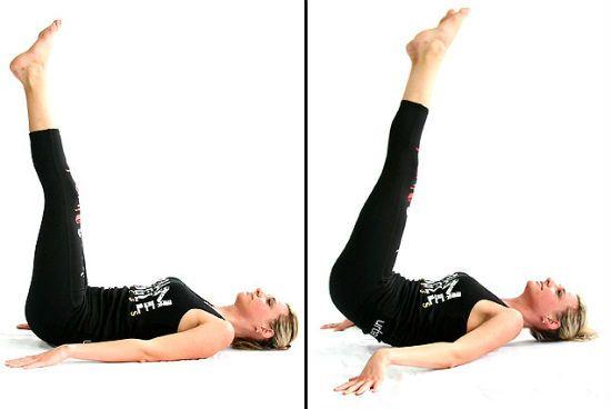 упражнение подъем таза фото