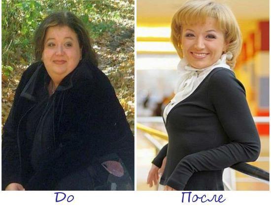 Светлана Ахтарова, Альметьевск (Россия) фото до и после похудения