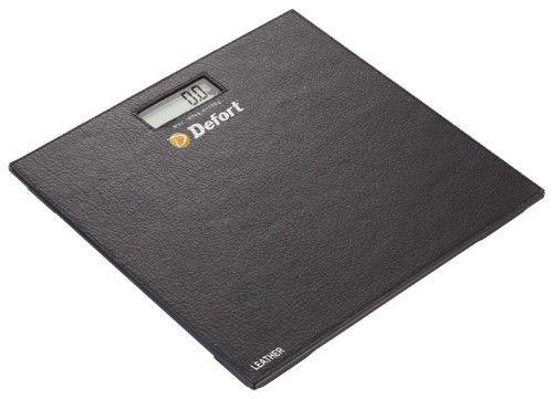 Напольные весы с поверхностью из кожи фото