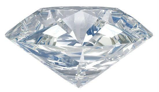 Фотография алмаза