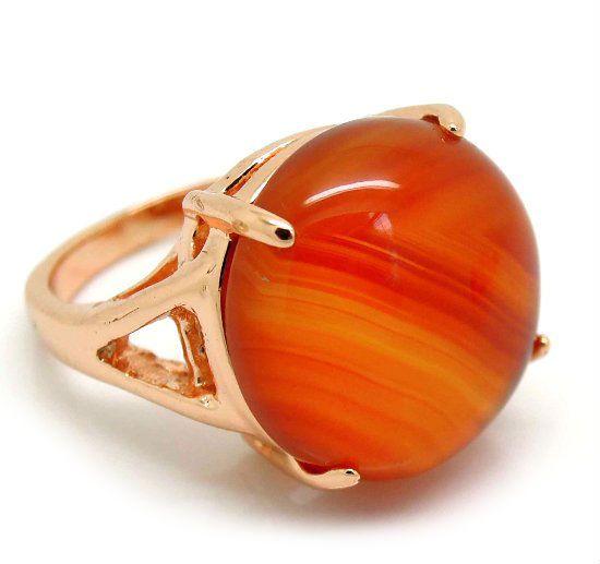 Кольцо с камнем сердолик фото