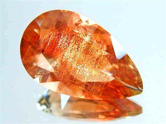 Фотография солнечного камня