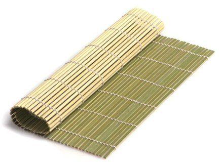 Бамбуковый коврик для приготовления роллов фото