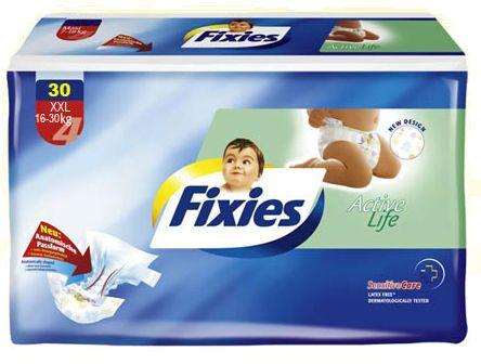 Памперсы Fixies New Life