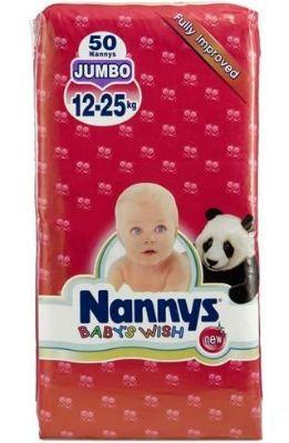 Памперсы Nanny's