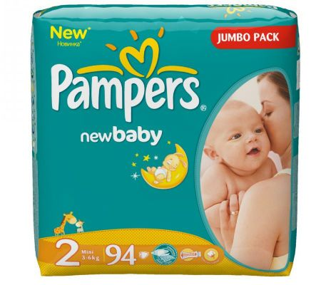 Памперсы Pampers New Baby Dry Mini