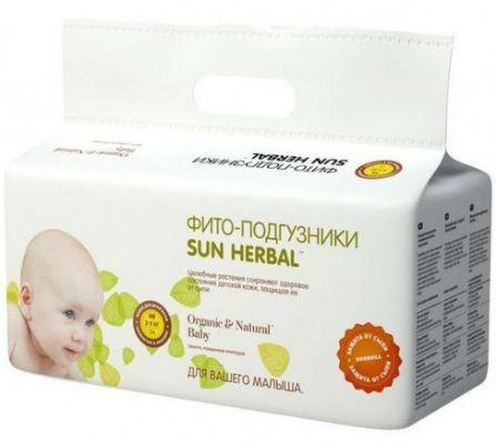Памперсы Sun Herbal