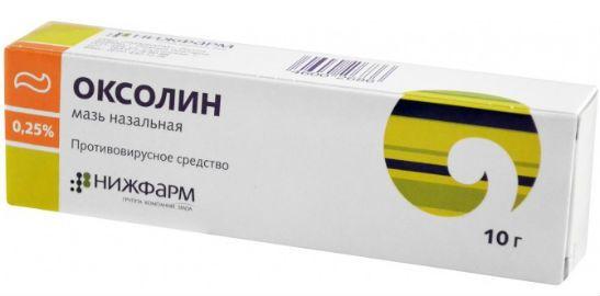 Препарат Оксолин
