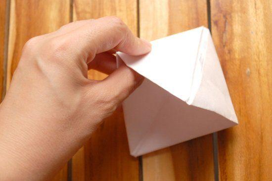 Кораблик из бумаги шаг 7