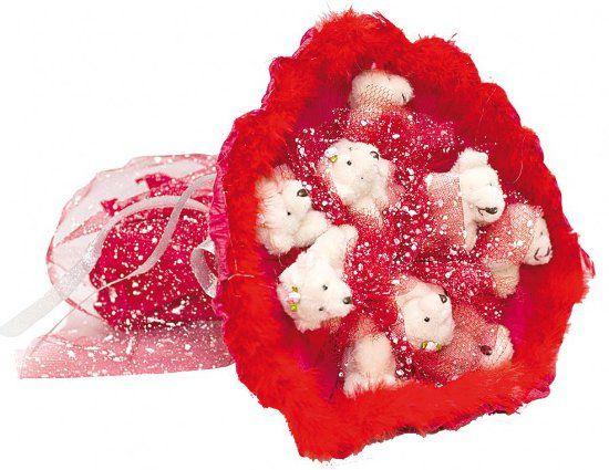 Букет из игрушек пример 2