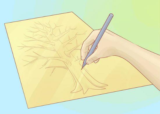 Генеалогическое дерево своими руками шаг 3