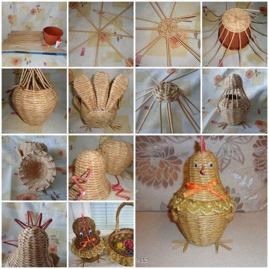 Изготовление цыпленка-шкатулки