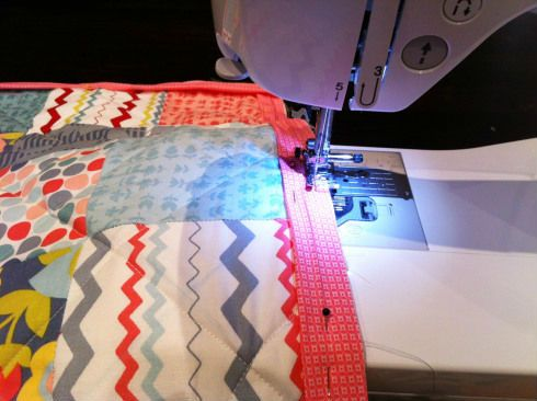 Лоскутное одеяло шаг 6