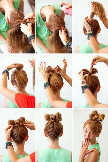 Плетение косичек на длинные волосы 4