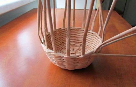 Плетение шляпы шаг 10