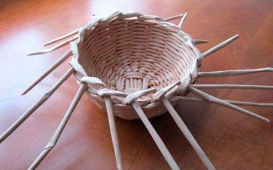 Плетение шляпы шаг 11