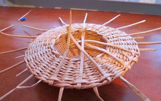 Плетение шляпы шаг 17