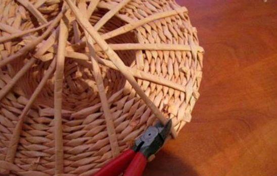 Плетение шляпы шаг 18