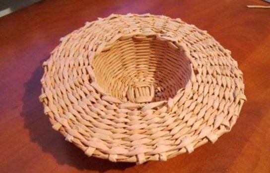 Плетение шляпы шаг 19
