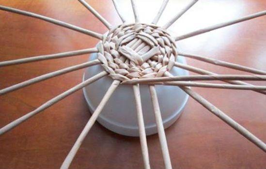 Плетение шляпы шаг 7