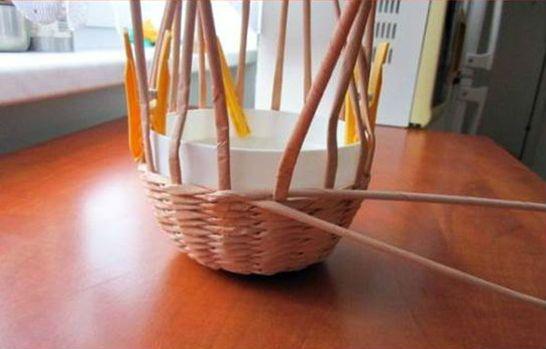 Плетение шляпы шаг 9