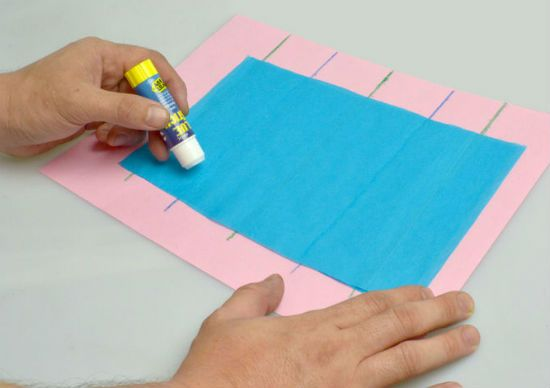 Помпон из бумаги способ 1 шаг 7