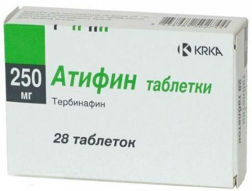 Противогрибковый препарат Атифин