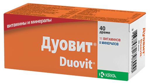 Витамины для волос Дуовит