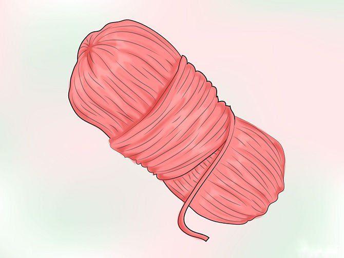Моток шерсти для вязания