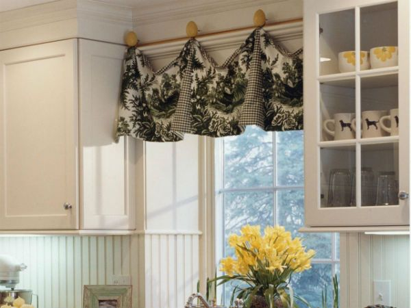 Идеи для выбора кухонных штор 1