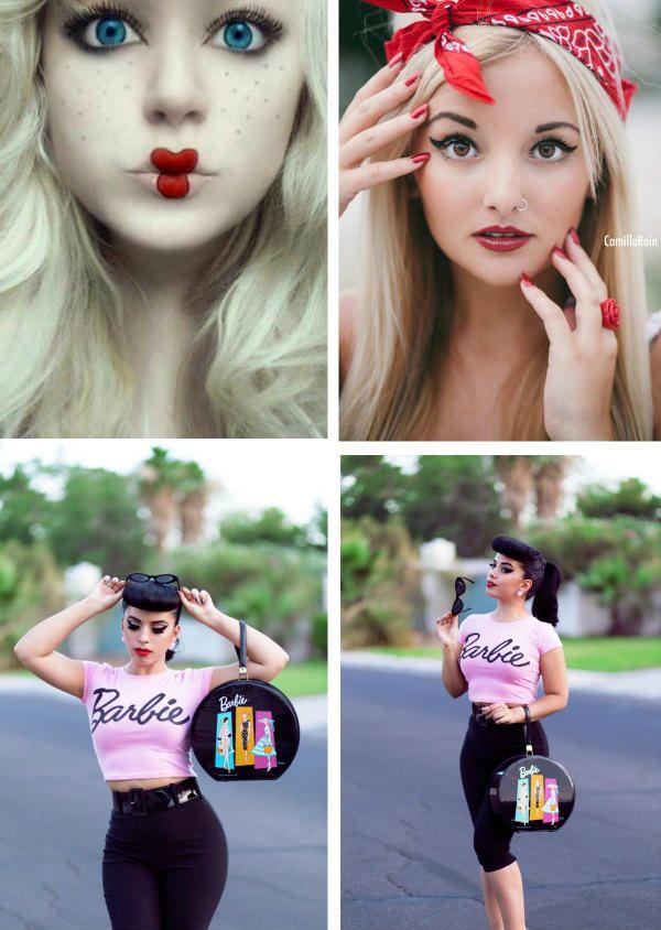 Образ Барби фото