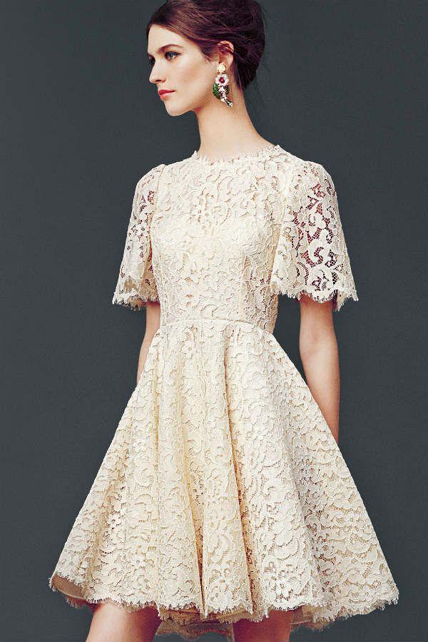 Платье до колен ампир фото