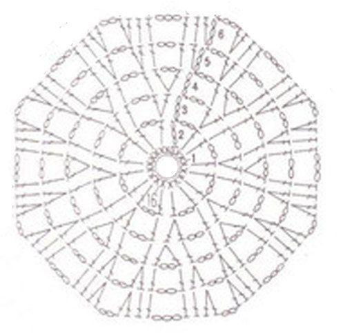 Схема шапочки фото