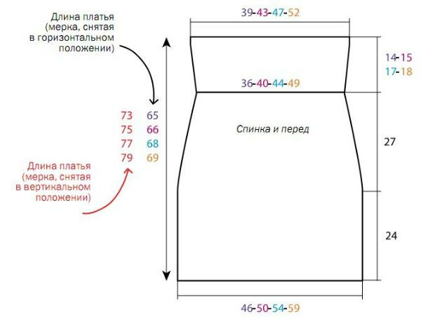 Схема изделия фото