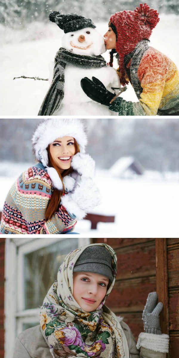 Зимние и новогодние идеи фото